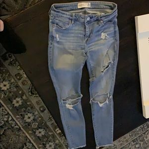 Abercrombie & Fitch Ankle Jeans